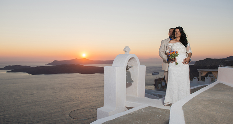 Santorini renewal vows