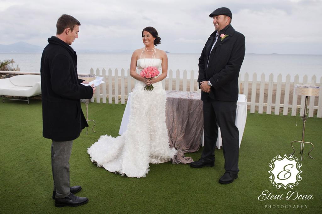Symbolic wedding in Santorini www.santorini-wedding.co