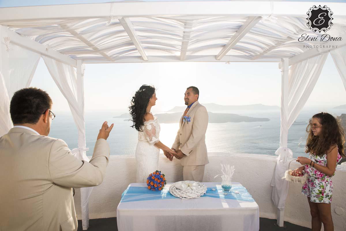 Wedding Ceremony Santorini Planners