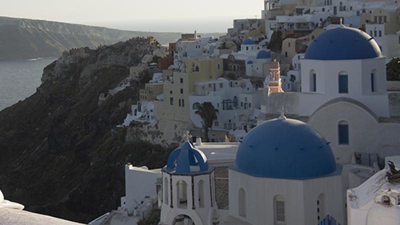 Santorini superior destination in Greece