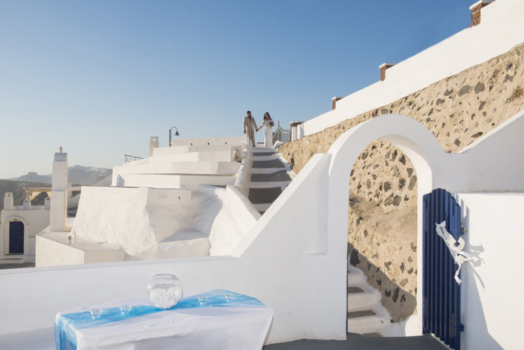 Wedding venue Santorini
