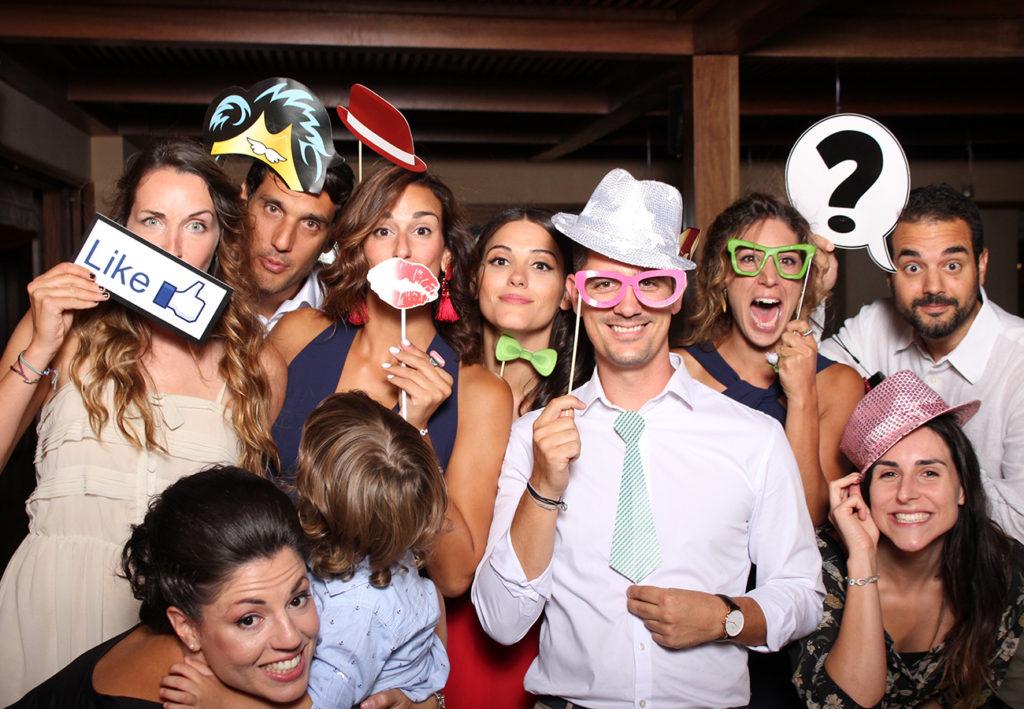 Wedding photobooth santorini